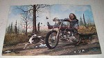 1978 David Mann Illustration - Hellbound On My Trail
