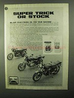1977 Bel-Ray Four Stroke Motorcycle Oil & Racing Oil Ad