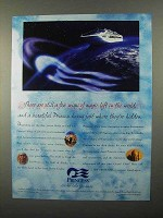 1998 Princess Cruises Ad - A Few Wisps of Magic