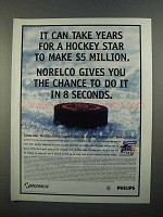 1997 Norelco NHL SuperSkills $5 Million Challenge Ad