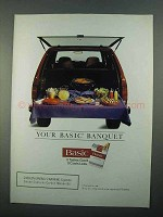 1996 Basic Cigarettes Ad - Your Basic Banquet