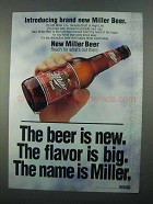 1996 Miller Beer Ad - Introducing Brand New Miller