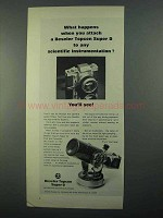 1968 Beseler Topcon Super D Camera Ad - What Happens