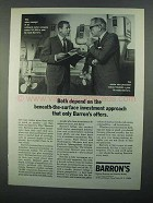 1968 Barron's National Business and Financial Weekly Ad