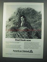 1968 American Mutual Ad - Don't Look Now