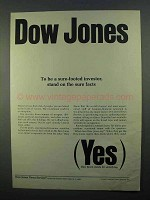 1968 Dow Jones Ad - To Be a Sure-Footed Investor