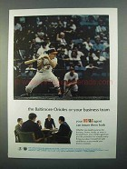 1968 USF&G Insurance Ad - Baltimore Orioles