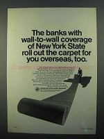 1968 Marine Midland Banks Ad - Roll Out The Carpet