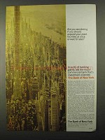 1968 The Bank of New York Ad - Expand Plant Facilities?