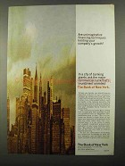 1968 The Bank of New York Ad - Your Company's Growth