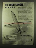 1968 Israel Aircraft Jet Commander Ad - Right Angle