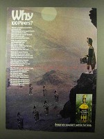 1968 Seagram's 100 Pipers Scotch Ad - Why?