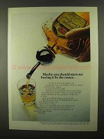 1968 Seagram's Crown Royal Whisky Ad - By the Ounce