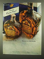 1968 Seagram's Crown Royal Whisky Ad - Dear Friends