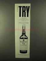 1968 Seagram's V.O. Canadian Whisky Ad - TRY