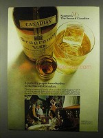 1968 Seagram's V.O. Canadian Whisky Ad - Smooth