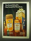 1968 Old Crow Bourbon Ad - Two Beautiful Gifts