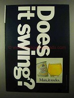 1968 Country Club Malt Liquor Ad - Does It Swing?