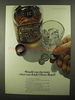1968 Chivas Regal Scotch Ad - Should You Tip More?