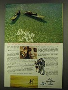 1968 United Airlines Ad - Let's Get Away From it All