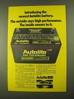 1968 Ford Autolite High Performance Battery Ad