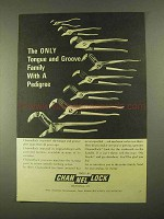 1968 Channellock Tongue and Groove Pliers Ad - Pedigree