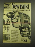 1968 Skil Drive-R-Drill Ad - New Twist