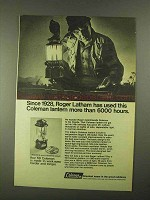 1968 Coleman Lantern Ad - Used More than 6000 Hours