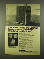 1968 Coleman Convertible Cooler Ad - Look At Picture