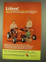 1968 Wheel Horse Charger Electro 12 Tractor Ad - Lifers