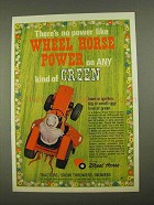 1968 Wheel Horse Tractor Ad - There's No Power Like