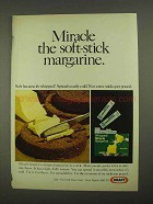 1968 Kraft Whipped Miracle Margarine Ad - Soft-Stick
