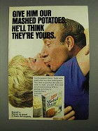 1968 French's Mashed Potato Ad - Think They're Yours