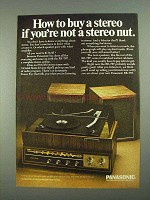 1968 Panasonic RE-767 Stereo System Ad - How To Buy