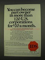 1968 IDS Stock Fund Ad - Part Owner