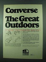 1975 Converse Outdoor Sports Equipment Ad
