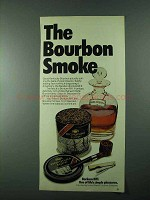 1975 Borkum Riff Tobacco Advertisement - The Bourbon Smoke