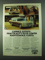 1975 Chevrolet Caprice Estate Wagon Ad - Practicality