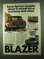 1975 Chevy Blazer Ad - Some Facts to Consider
