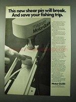1975 Motor-Guide Magnum Outboard Motor Ad