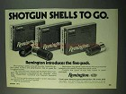 1975 Remington Shotgun Shells Ad - Express Rifled Slug