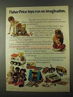 1974 Fisher-Price Toy Ad - Play Family Castle, Dolls +