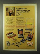 1974 Ace Hardware Save-at-Ace Sale Ad - Connie Stevens
