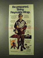 1974 Reynolds Wrap Ad - Be Prepared