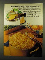 1974 Kraft Macaroni & Cheese Ad - Robust Flavor