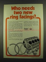1974 Perfect Circle Chromatic, Moly-Plus Piston Ring Ad