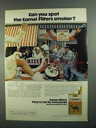 1973 Camel Cigarettes Ad - Can You Spot the Smoker?