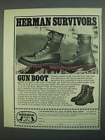 1973 Herman Survivors Gun Boot, Model 7194 Ad