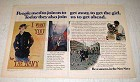 1973 U.S. Navy Ad - People Used to Join Us to Get Away