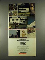 1972 Winnebago Rent-A-Way Ad - Great American Dream